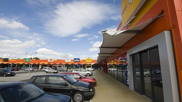 Obchodní centrum Paráda.