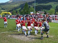 Hráči 1. BFK Frýdlant nad Ostravicí.