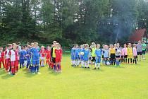 Šest žákovských družstev z České republiky, Slovenska a Polska se porovnalo na mezinárodním fotbalovém turnaji, který se uskutečnil na hřišti v Neborech.