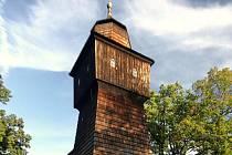 Dřevěný kostel v Dolních Marklovicích.