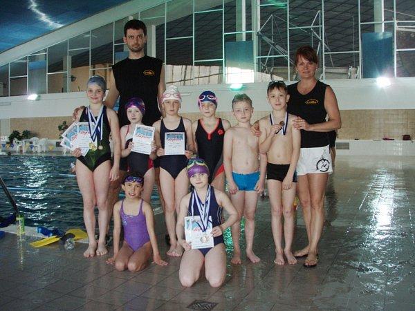 VKopřivnici získali frýdecko-místečtí plavci 11medailí.