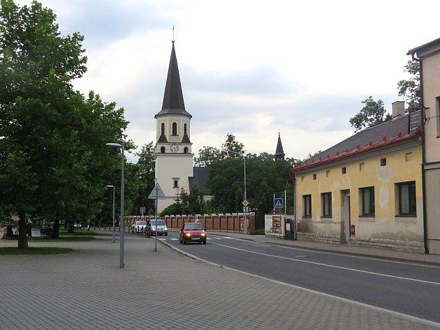 Centrum Frýdlantu nad Ostravicí.