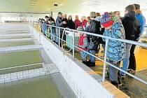 Prostory úpravny vody v Nové Vsi se pravidelně otevírají veřejnosti v rámci dnů otevřených dveří.