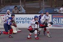 Hokejbalisté Třince extraligovou licenci neprodali. I v nadcházejícím ročníku budou hrát v nejvyšší republikové soutěži. Ilustrační foto.