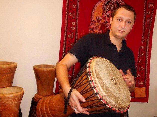 Jiří Kloda měl vždy slabost pro nezvyklé hudební nástroje.