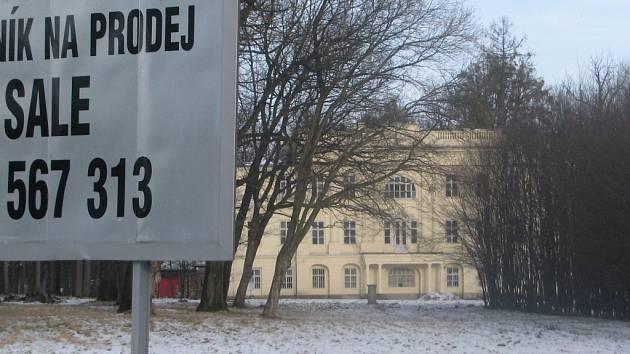 Zámek v Hnojníku.