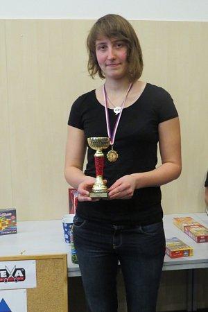 Mistryní České republiky vpexesu se nakonec stala dvacetiletá Klára Křesťanová, studentka zPrahy.