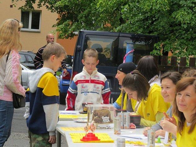 Dětský den se Schäfer school hostil v sobotu 1. června areál místecké restaurace Golf.