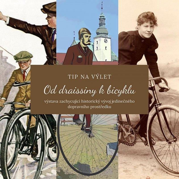 Výstava Od draissiny kbicyklu láká vášnivé cyklisty