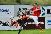 Fotbalisté Třince se v domácím prostředí nenechali zaskočit a díky gólům Gavláka a Motyčky porazili tým Kroměříže 2:0.