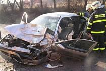 Nehoda v Krmelíně.