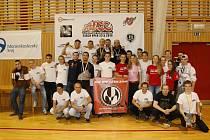 Bojovníci z frýdecko-místeckého GB Draculino na domácím turnaji.