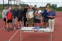 Premiérového ročníku tenisového turnaje ve Stříteži se nakonec zúčastnilo dvanáct přihlášených hráčů. Vítězem se stal Aleš Potiorek.