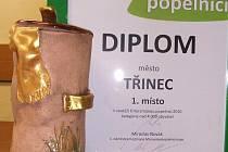 """V soutěži O keramickou popelnici tradičně uspělo město Třinec. Zvítězilo jako """"nejlepší třídič"""" roku 2010 v kategorii obcí nad čtyři tisíce obyvatel."""