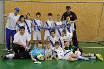 Mladší žáci MFK Frýdek-Místek skončili na Hadamczikově memoriálu třetí.