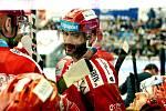 Erik Hrňa, jeden z třineckých hrdinů pondělního duelu v Plzni.