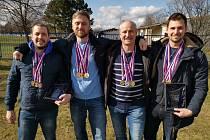 Výběr plavců z Moravskoslezského kraje uspěl na Policejním mistrovství České republiky.