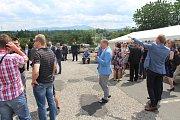 Slavnostní zahájení stavby obchvatu se konalo ve čtvrtek.