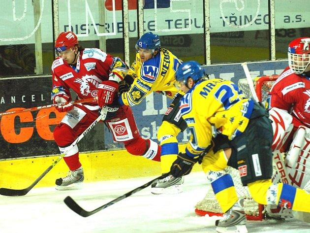 Na snímku Jiří Polanský a Martin Vágner.