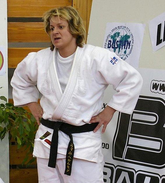 Česká reprezentantka v judu si z policejního evropského šampionátu přivezla páté místo.