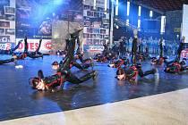 Ve Frýdecko-místecké víceúčelové sportovní hale proběhlo krajské kolo soutěže Taneční skupina roku, kterou uváděl moderátor Libor Bouček.