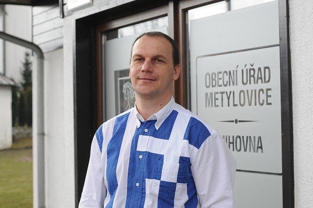 Starosta Metylovic Lukáš Halata.