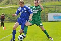 Stejně jako na podzim skončilo vzájemné měření sil fotbalistů Třince a Sokolova smírem 2:2.