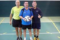 Fazoli – vítěz prvního turnaje v nohejbalu trojic.