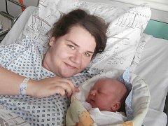 Gabriela Blaščíková s maminkou, Frýdek-Místek, nar. 27. 1., 49 cm, 3,50 kg. Nemocnice ve Frýdku-Místku.