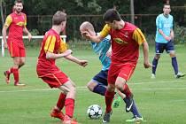 Divizní fotbalisté Frýdlantu podlehli doma Jeseníku 0:2.