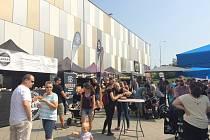 Burger street festival před OC Frýda ve Frýdku-Místku.