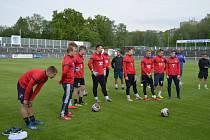 Fotbalisté třetiligového Frýdku-Místku se vrhli na trénink.