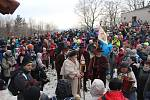 Lašský král Zdeňa Viluš I. přednesl na Čupku novoroční projev.