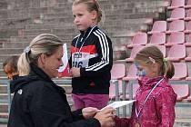 I přes nepřízeň počasí se třinecká část Čokoládové tretry vydařila. Punc velikosti navíc přidala i bývalá československá reprezentantka Taťána Netoličková-Kocembová.