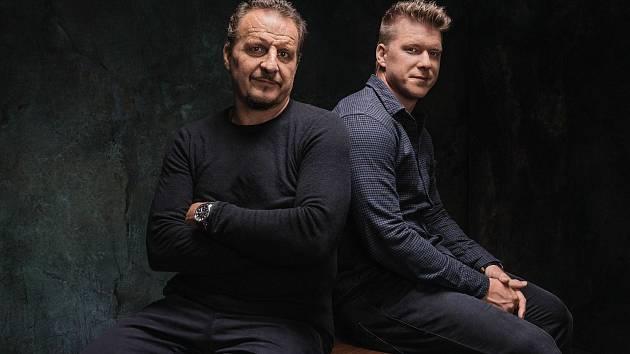 Otec a syn. Pavel a Ondřej Palátovi. Foto: Sport Invest