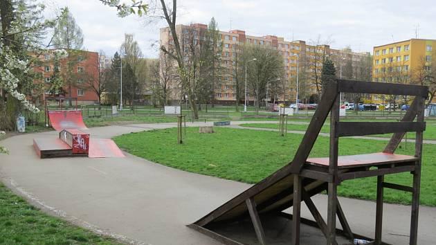 Bývalé dopravní hřiště na okraji Riviery by se mohlo proměnit ve volnočasový areál.