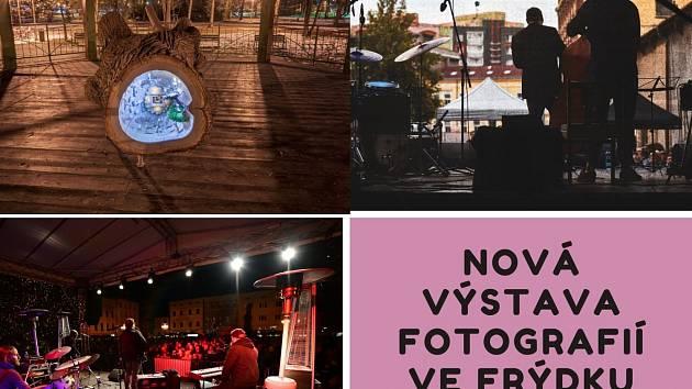 Kultura F≈M připravila výstavu fotografií ve veřejném prostoru.
