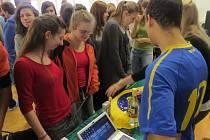 Prezentace zemí studenty frýdecko-místecké školy zaujala. Aktivně debatovali s vysokoškoláky ze zahraničí.