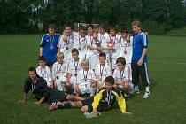 Třinečtí starší žáci B skončili v právě skončené sezoně SpSM U14 na vynikajícím třetím místě. Před nimi byly už jen velkokluby jako Sigma Olomouc a Baník Ostrava.