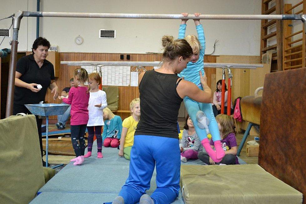 Třinec cvičí s dětmi