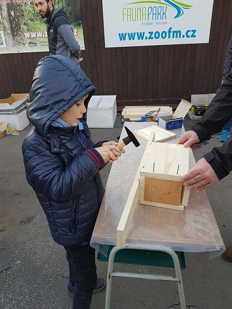 Dílničky: vyrábíme ptačí hnízdní budky, neděle 16.února 2020.