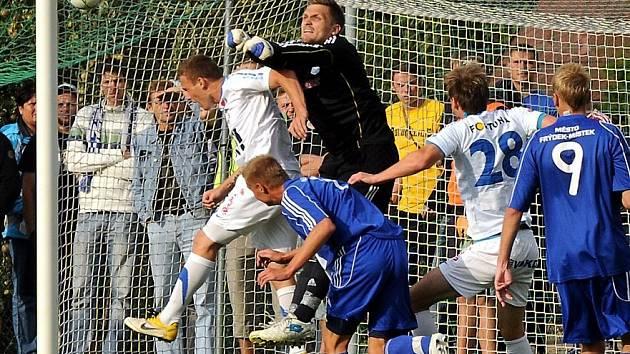 Snímky z utkání MFK Frýdek-Místek – FC Baník Ostrava 1:3.