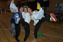 Frýdecko-místečtí tanečníci se pod vedením jejich trenérky Kristýny Blahutové opravdu činili.