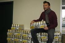 Marek Jankulovski v pátek dostal v pivovaru Radegast 504 piv, které jsou počtem jeho startů v ligových soutěžích a v reprezentaci.