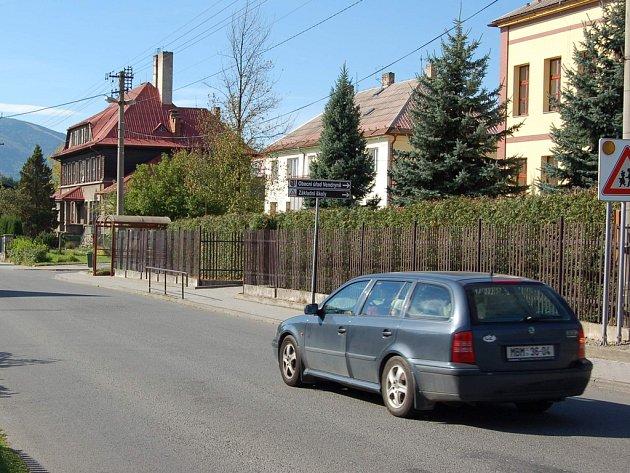 Centrum Vendryně.