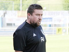 Trenér frýdecko-místeckých fotbalistů Peter Venglarčík.