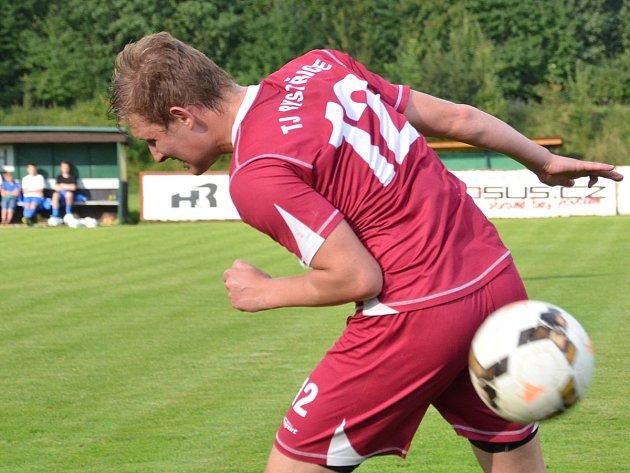Bystřický útočník Tomáš Kisza se na vysoké výhře svého týmu podílel čtyřmi góly.