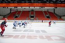 Hokejoví Rysi by měli odehrát tři domácí zápasy v řadě.