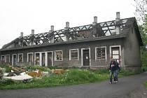 Domy v třinecké lokalitě Folvark jsou určené k demolici.