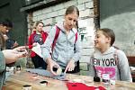 Děti se ve faunaparku vydaly na cestu za pirátským pokladem. Foto: Deník/Tereza Liczmanová